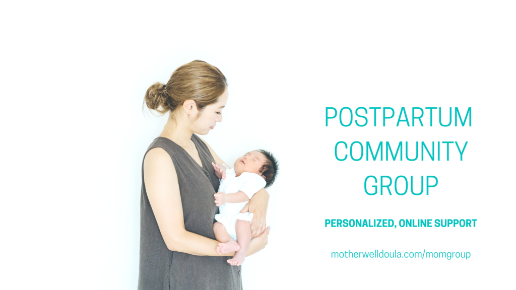 Mother Well Postpartum & Mommy Support Group